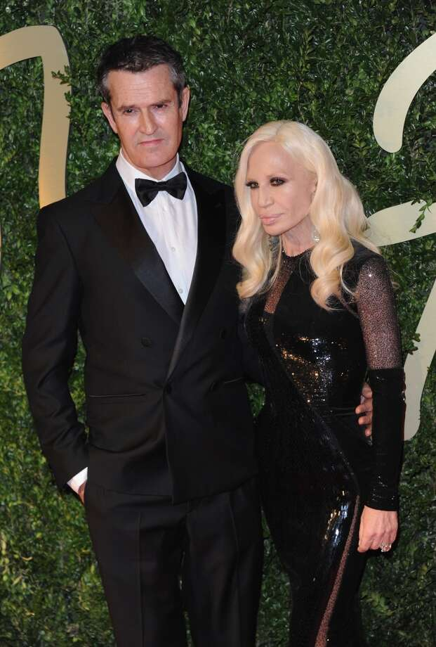 Rupert Everett and Donatella Versace attend the British Fashion Awards 2013 at London Coliseum on December 2, 2013 in London, England.  (Photo by Stuart C. Wilson/Getty Images) Photo: Stuart C. Wilson, Getty Images