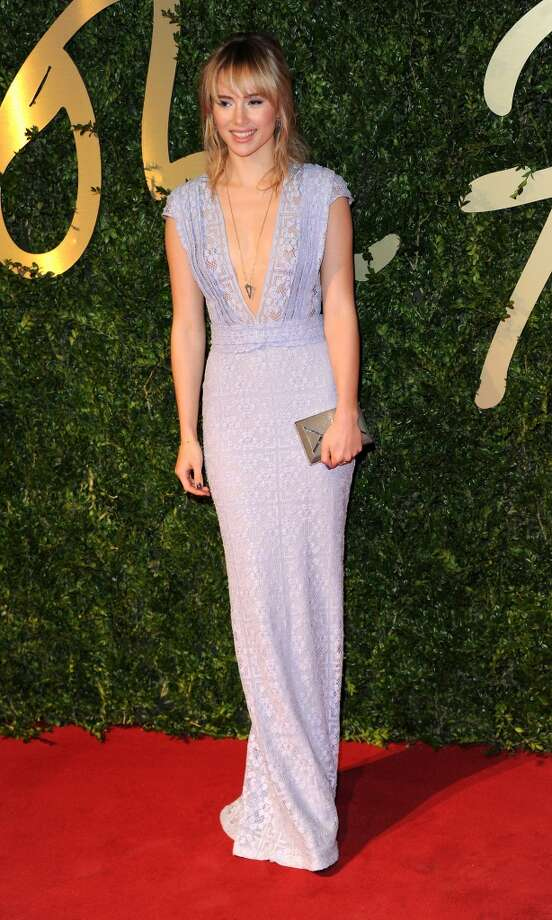 Suki Waterhouse attends the British Fashion Awards 2013 at London Coliseum on December 2, 2013 in London, England.  (Photo by Stuart C. Wilson/Getty Images) Photo: Stuart C. Wilson, Getty Images