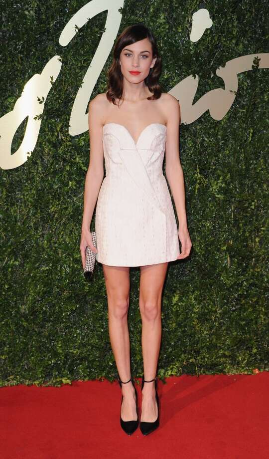 Alexa Chung attends the British Fashion Awards 2013 at London Coliseum on December 2, 2013 in London, England.  (Photo by Stuart C. Wilson/Getty Images) Photo: Stuart C. Wilson, Getty Images
