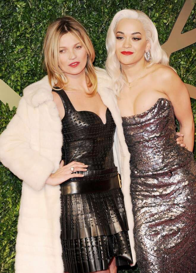 Kate Moss and Rita Ora attend the British Fashion Awards 2013 at London Coliseum on December 2, 2013 in London, England.  (Photo by Stuart C. Wilson/Getty Images) Photo: Stuart C. Wilson, Getty Images