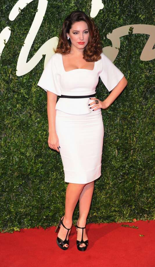 Kelly Brook attends the British Fashion Awards 2013 at London Coliseum on December 2, 2013 in London, England.  (Photo by Stuart C. Wilson/Getty Images) Photo: Stuart C. Wilson, Getty Images