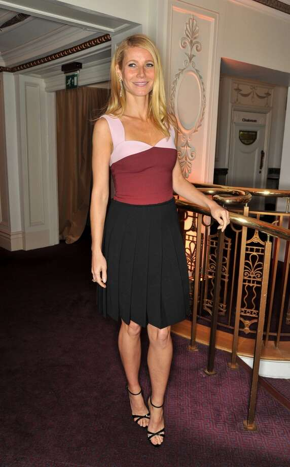 Gwyneth Paltrow attends the British Fashion Awards 2013 at London Coliseum on December 2, 2013 in London, England.  (Photo by Nick Harvey/WireImage) Photo: Nick Harvey, WireImage