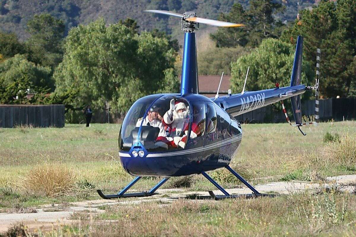 Santa's Fly-In at the vintage Carmel Valley Airport is a 55-year tradition.
