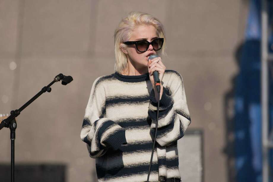 "Sky Ferreira delivers some punches on her  ""Night Time, My Time"" release. Photo: Daniel Boczarski / Getty Images"