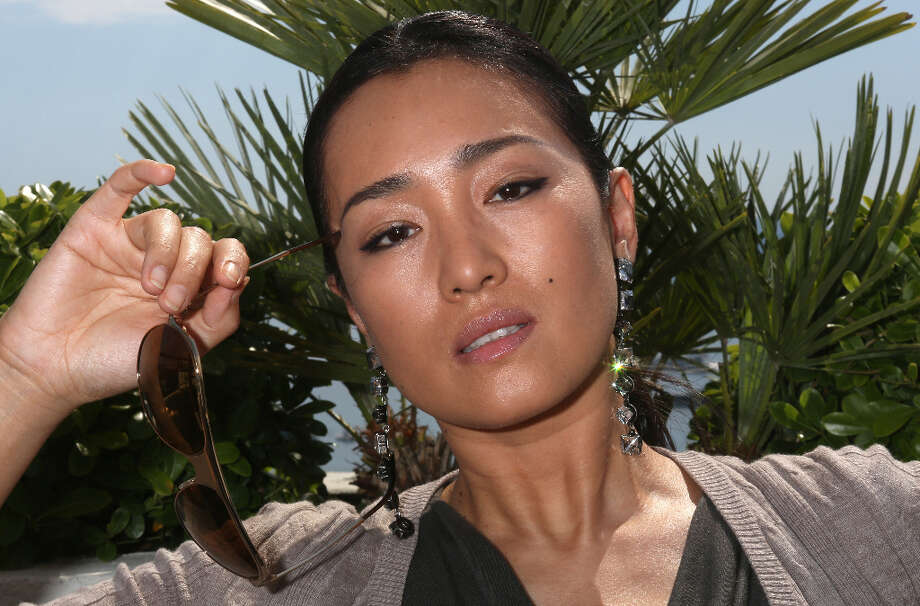 Gong Li during a photo session at the Cannes film festival on May 26, 2012.  A face that needs no adornment. Photo: LOIC VENANCE, AFP/Getty Images