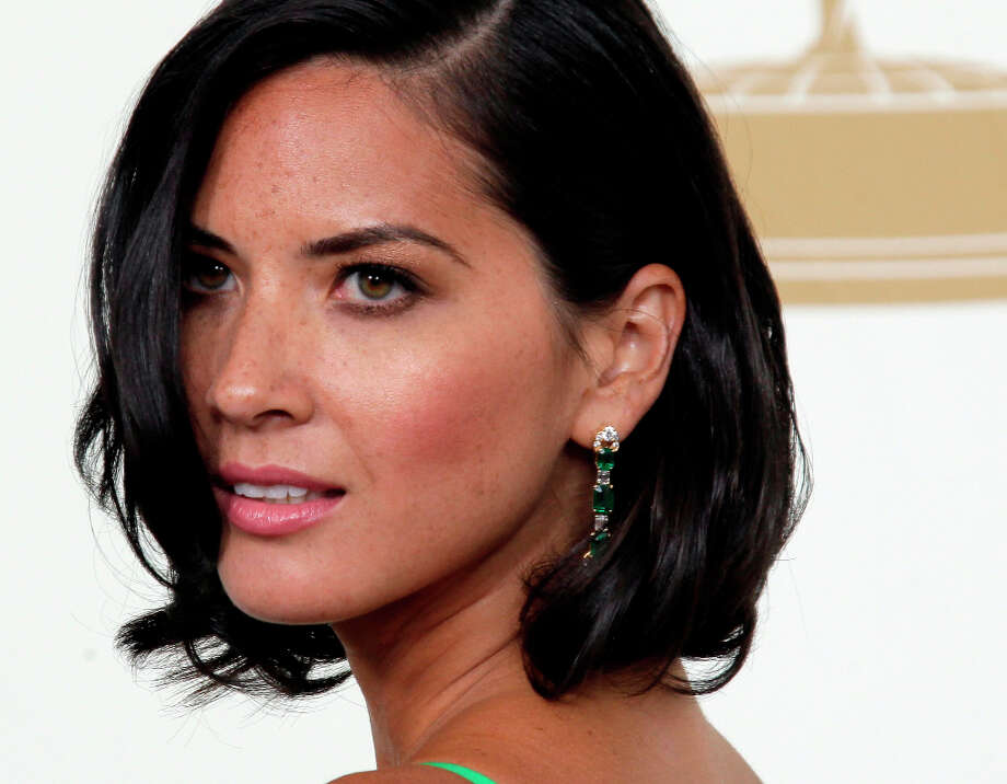 Olivia Munn -- good in THE BABYMAKERS, though the movie was awful, and in MAGIC MIKE. Photo: Jae Hong, ASSOCIATED PRESS