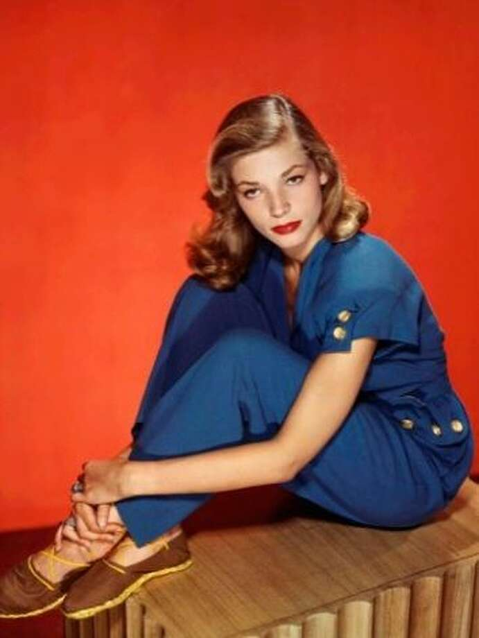 Lauren Bacall in the 1940s.