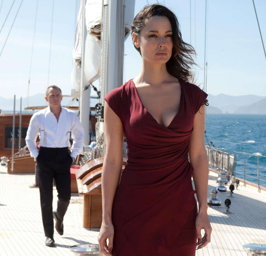 "Berenice Marlohe -- one of the discoveries of 2012, in ""Skyfall."""