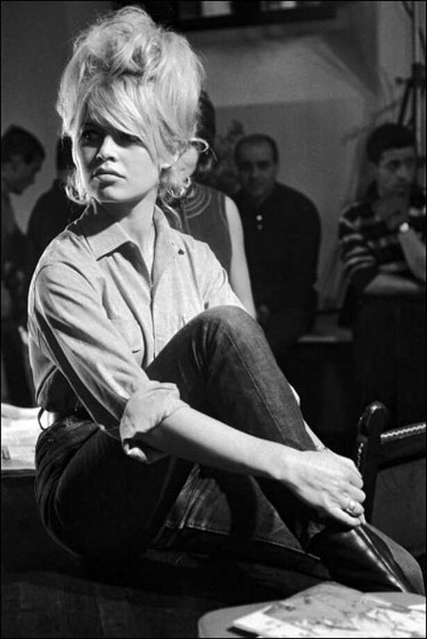 Brigitte Bardot -- she reigned from the fifties through the early Seventies. Photo: REPORTERS ASSOCIES / 2011 Gamma-Rapho