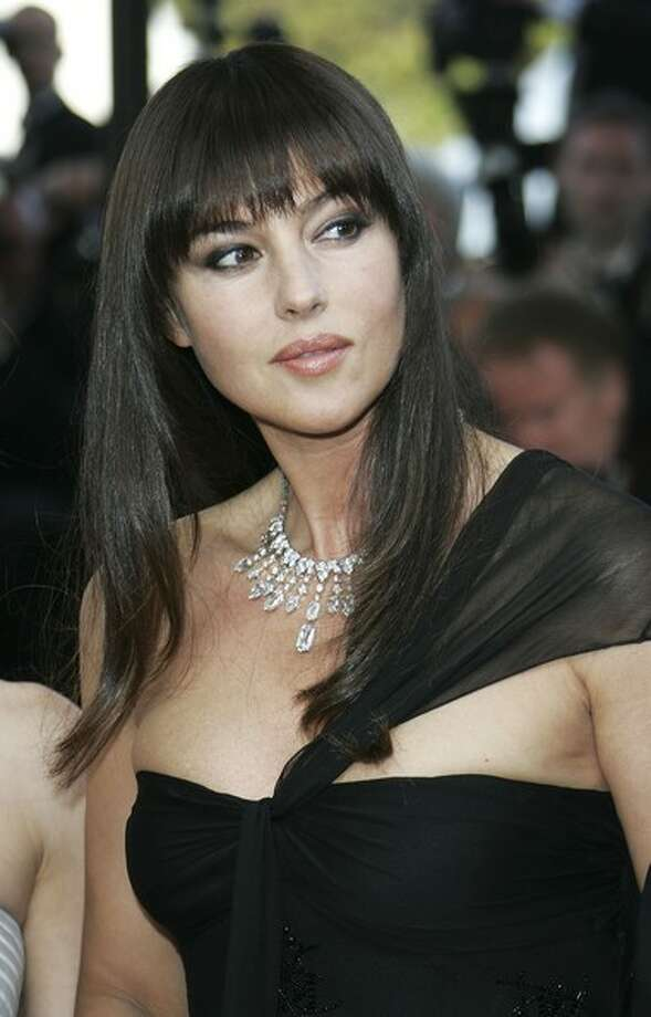Monica Bellucci -- fantastically beautiful Italian star of French, Italian and American films.