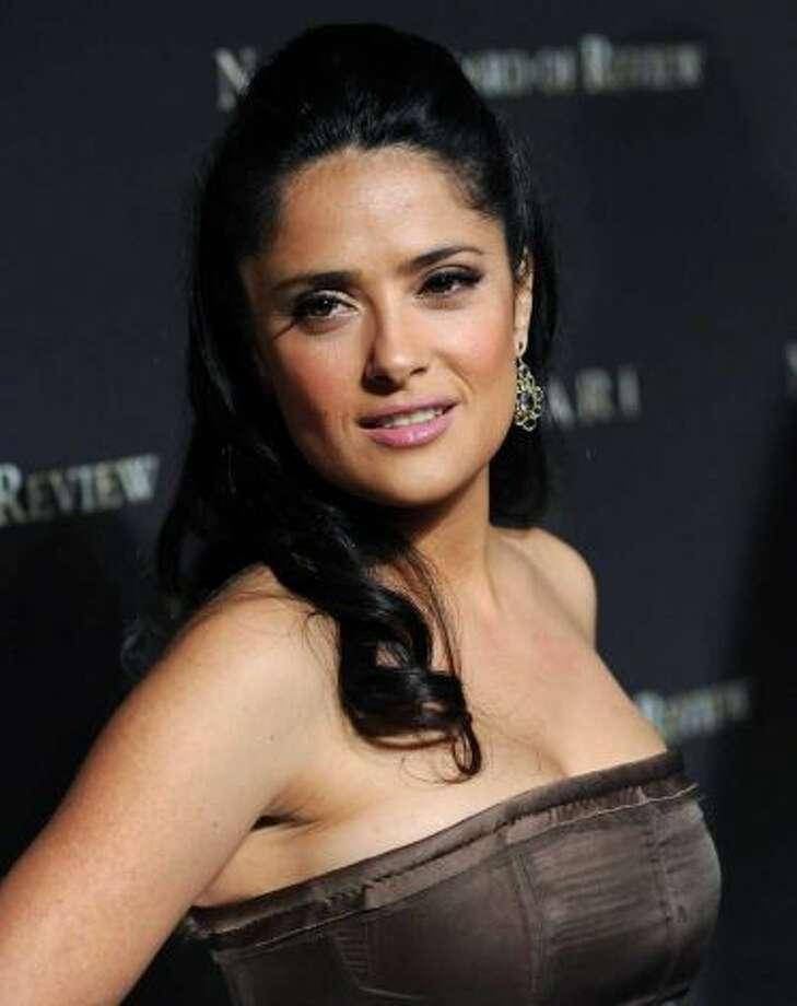 Salma Hayek -- popular star, suggested by bauhaus.
