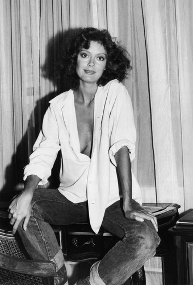 Susan Sarandon on 14th September 1978, at New York's Warwick Hotel. Photo: Getty Images