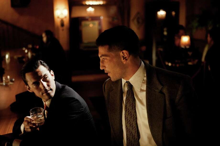 "Milo Ventimiglia (left) and Jon Bernthal star in ""Mob City,"" a new TNT crime drama set in 1940s Los Angeles."