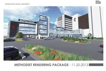 Methodist unveils $200M expansion of med center campus - San