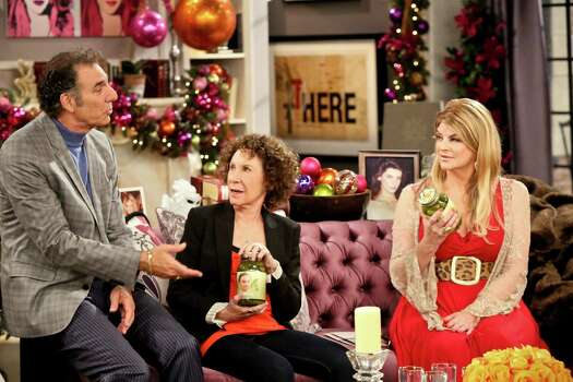'Kirstie,' starring Kirstie Alley alongside Michael Richards, from left, and Rhea Perlman, ended in February 2014 after one season. Photo: --