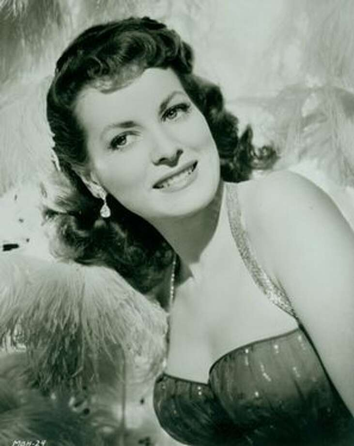 Maureen O'Hara -- Irish screen actress and frequent co-star to John Wayne.