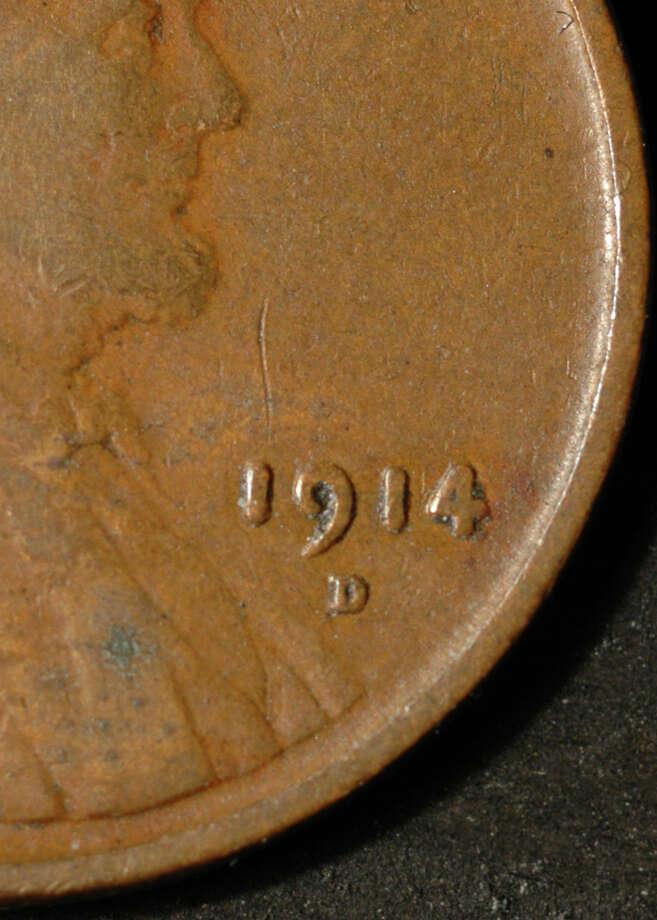 1914D U.S. penny Photo: --