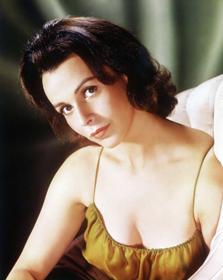 Claire Bloom -- perennially beautiful English actress.