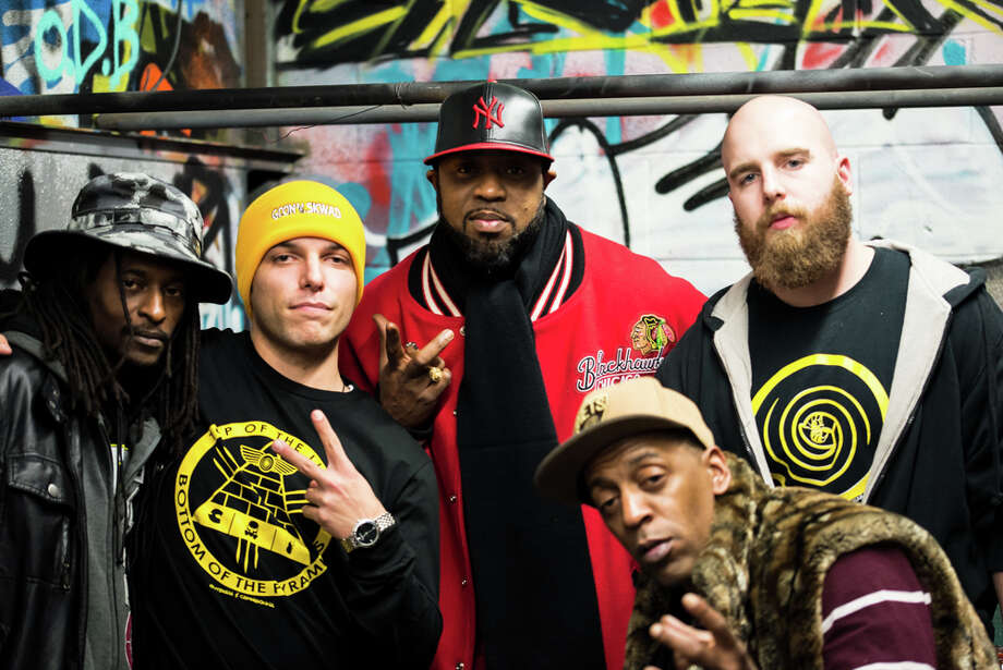 Wu Tang Clan's Cappadonna and Outbreak Skateboards hosted an unveiling of their new clothing and deck line, Winter Warz, at Rampage Skate Shop in Bridgeport on Saturday, Nov. 23. Photo: Andrew Merrill