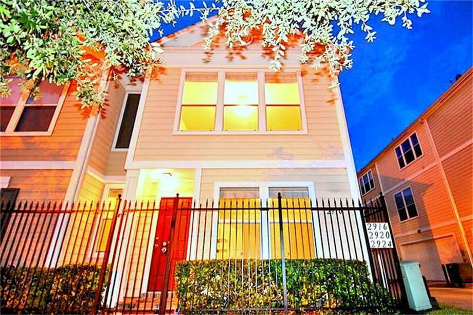 East of Downtown- Located at 2910 Clay, this 2005 townhouse has 2 bedrooms, 2 bathrooms, and 1,234 square feet. Listed for $205,000. Contact agent Thomas Miles at 281-883-9243 for more information.