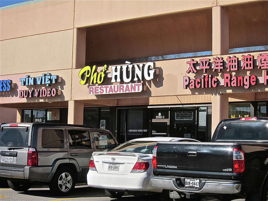 The exterior of Pho Hung on Bellaire Boulevard. Photo: Alison Cook