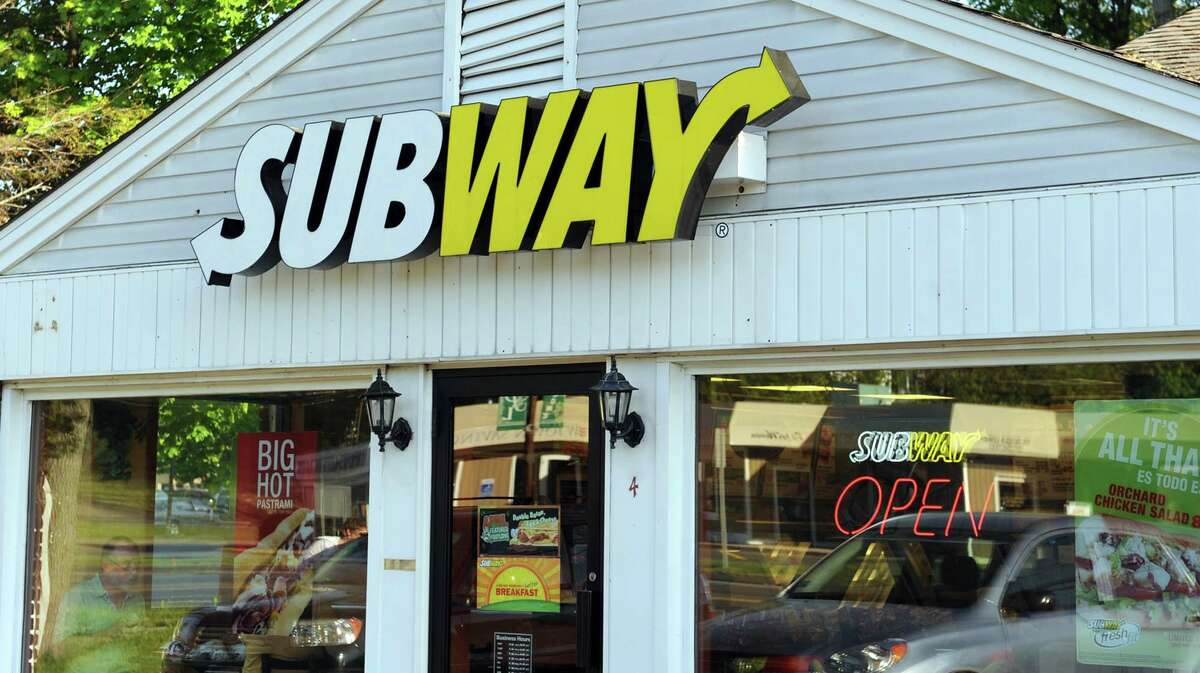 A Subway franchise at 75 Stony Hill Road in Bethel appears in this file photo.