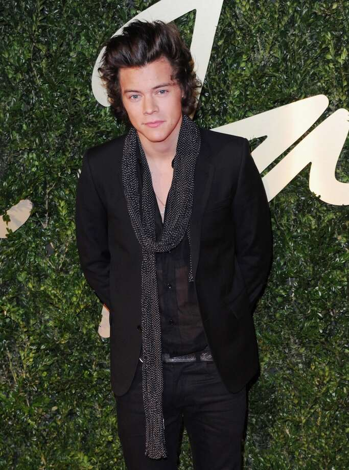 Harry Styles attends the British Fashion Awards 2013 at London Coliseum on December 2, 2013 in London, England.  (Photo by Stuart C. Wilson/Getty Images) Photo: Stuart C. Wilson, Getty Images