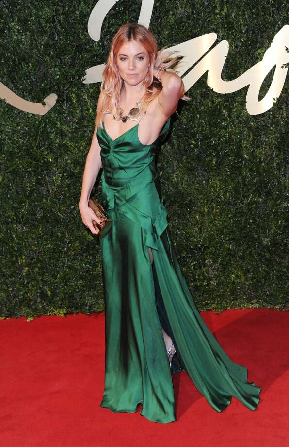 Sienna Miller attends the British Fashion Awards 2013 at London Coliseum on December 2, 2013 in London, England.  (Photo by Stuart C. Wilson/Getty Images) Photo: Stuart C. Wilson, Getty Images