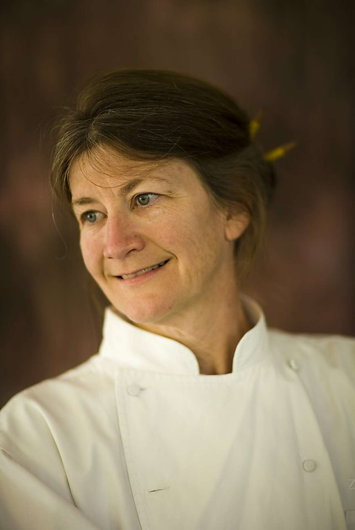 Judy Rodgers, chef at Zuni Cafe in San Francisco, Calif. on June 9, 2008. Photo by Craig Lee / The Chronicle