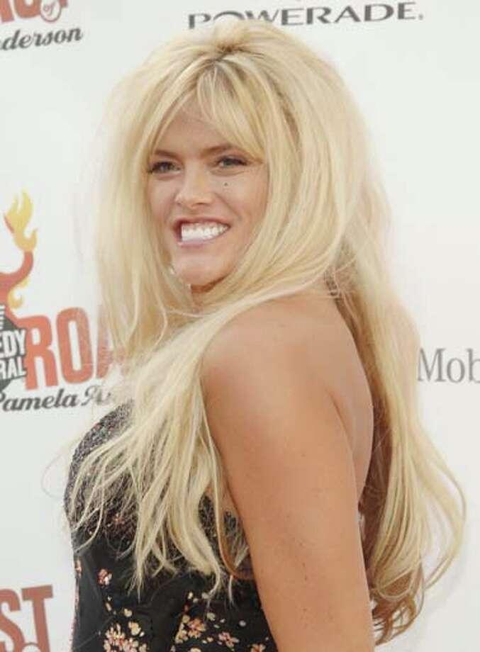 Texas' own Anna Nicole Smith was the target of 55 jokes by Jay Leno. Photo: Jon Kopaloff, FilmMagic / FilmMagic