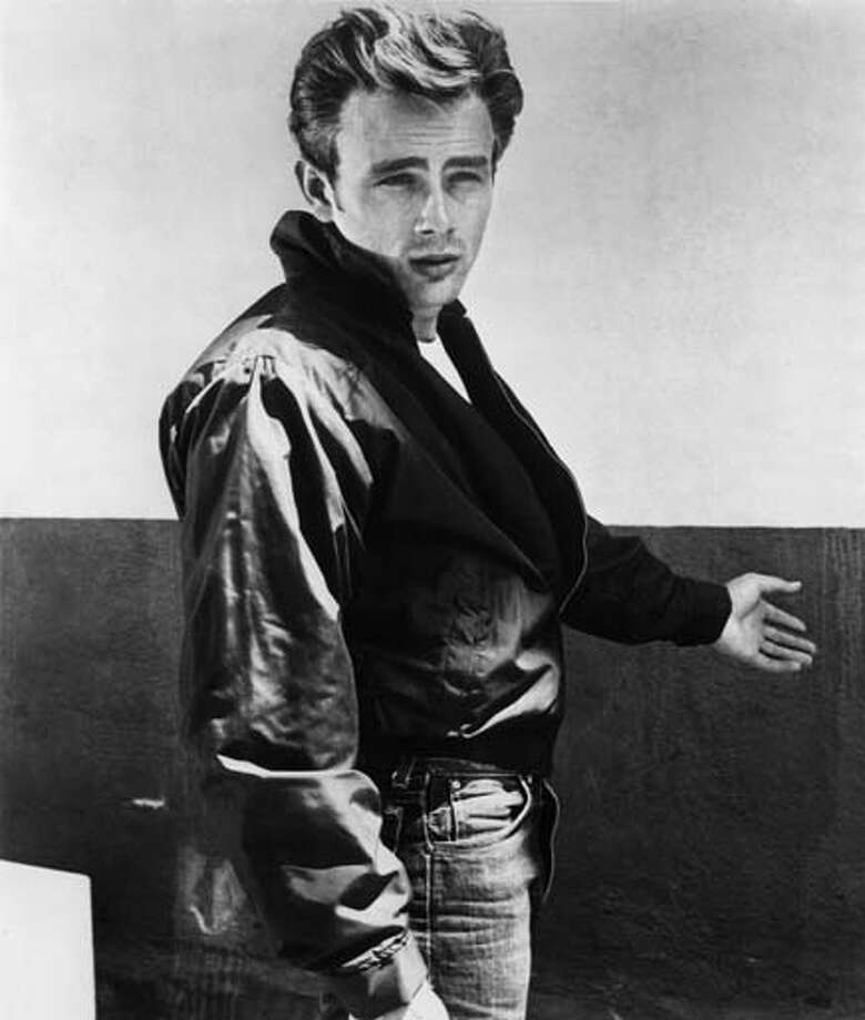 Actor James Dean was killed in an auto accident after another car came over into his lane. Here's the irony: James Dean starred in a driving safety PSA before his death. Photo: Michael Ochs Archives, Getty Images / Moviepix