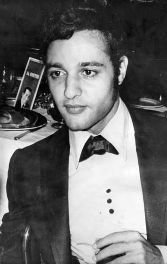 Film actor and singer Sal Mineo was found stabbed to death in 1976 behind an apartment building in Hollywood.  He won an Academy Award nomination for his role with the late James Dean in the film 'Rebel Without A Cause'. Photo: Keystone, Getty Images / Hulton Archive