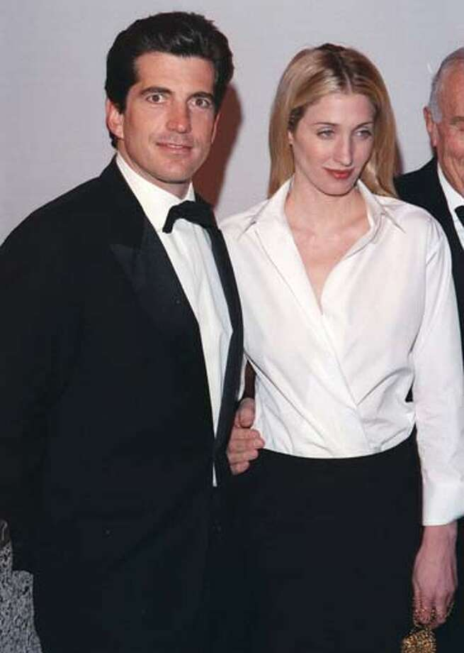 John F. Kennedy, Jr. and wife, Carolyn Bessette Kennedy died in a plane crash off of Martha's Vineyard as Kennedy was piloting a Piper Saratoga II HP en route to a family wedding. The NTSB attributed pilot-error as the cause of the crash. Photo: RJ Capak, WireImage / © RJ Capak 2003
