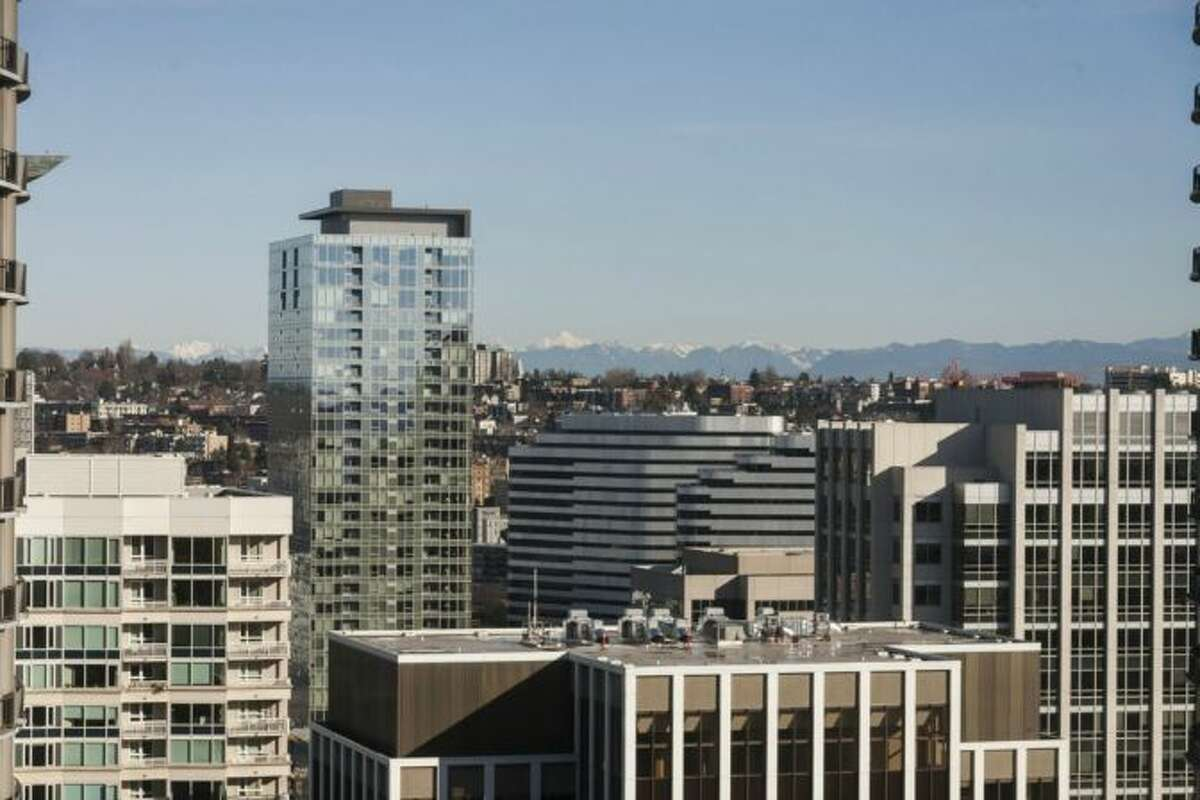View from Tim Lincecum's Escala condo, 1920 4th Ave., unit 2806. It's listed for $2.495 million.