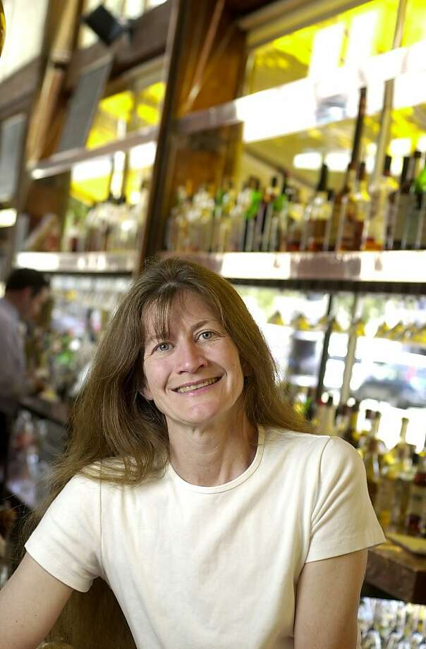 Zuni Cafe chef-owner Judy Rodgers in 2003. Photo: Craig Lee, The Chronicle 2003