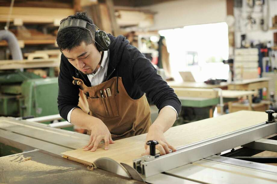 14. Woodworkers: There are 1,200 cabinetmakers, furniture 