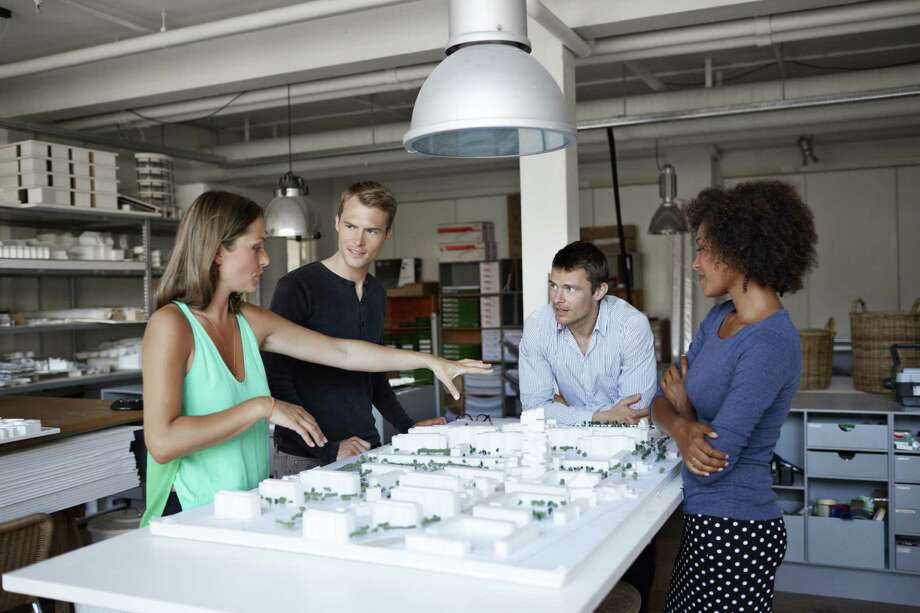 15. Architects, surveyors and cartographers: Jobs in this field are also demand, at a rate of 2.3 percent a year.  Photo: Klaus Vedfelt, Getty Images / (c) Klaus Vedfelt