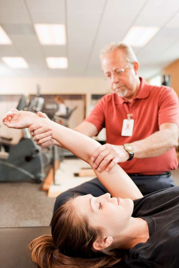 2. Occupational and physical therapy aides: A small group of about 900 people, but big job growth of 3.9 percent.  Photo: 178201, Getty Images / (c) 178201