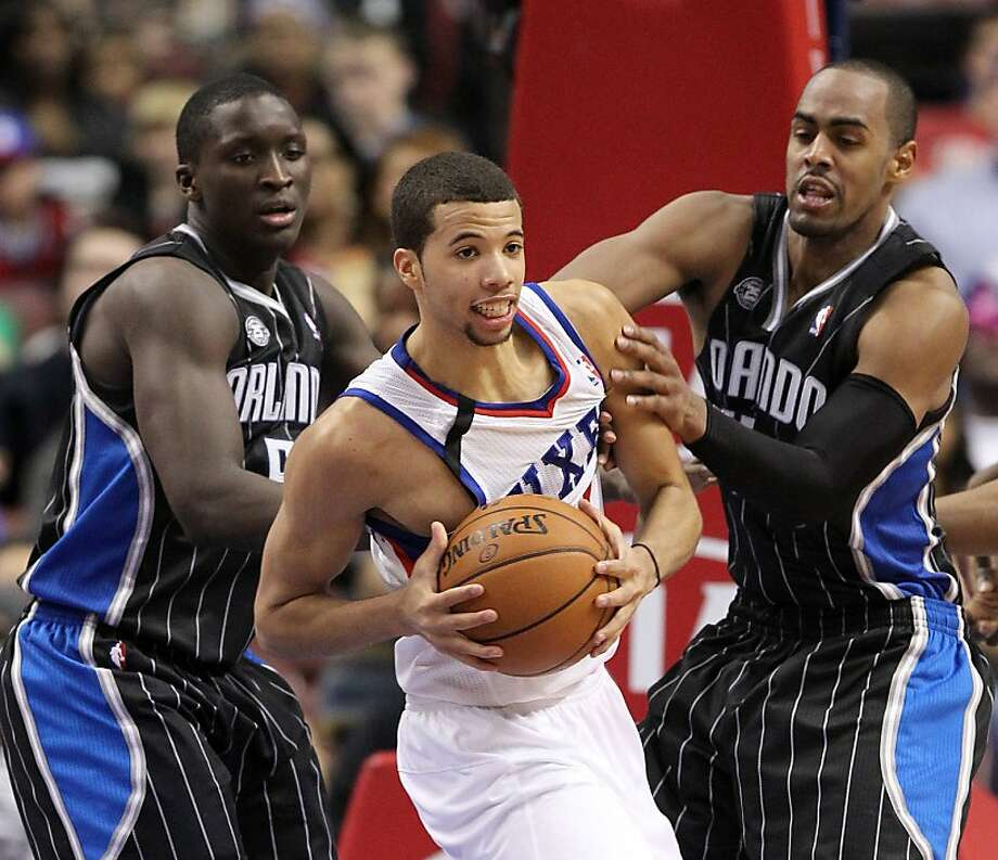 Rookies Victor Oladipo of the Magic (left) and Michael Carter-Williams of the 76ers each put together a triple-double. Photo: Yong Kim, McClatchy-Tribune News Service