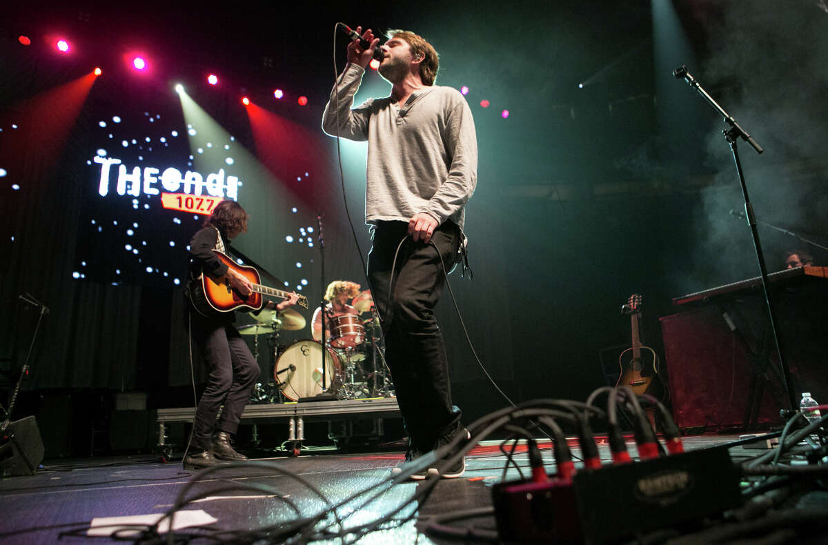 Josiah Johnson performs with The Head and the Heart during the Deck The Hall Ball at KeyArena on Tuesday, Dec. 3, 2013.
