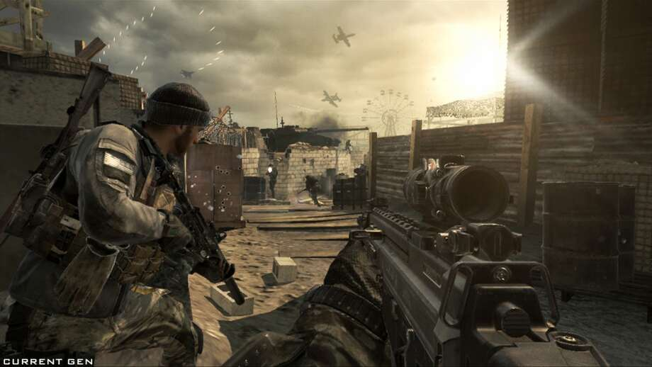 "Here's a screenshot from ""Call of Duty: Ghosts,"" the newest shooter from Activision. Photo: Activision"