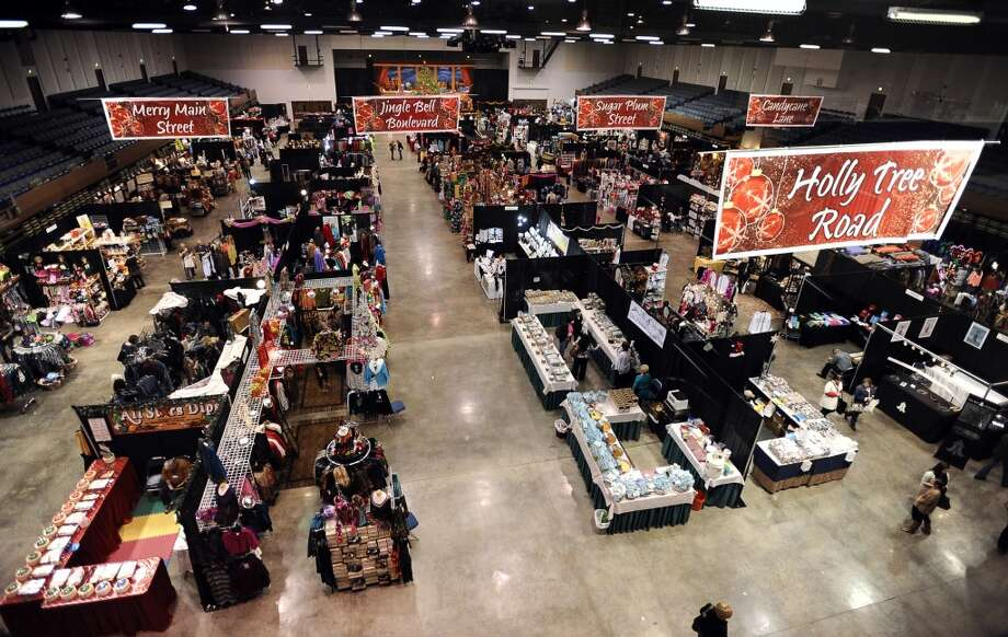 The 2017 Junior League of Beaumont's Main Street Market is open Thursday from 4 p.m. to 9 p.m., Friday from 10 a.m. to 8 p.m. and Saturday from 10 a.m. to 5 p.m. at the Beaumont Civic Center. Tickets are $10.Photo taken: Randy Edwards/The Enterprise
