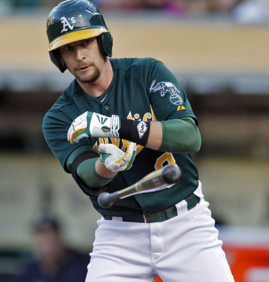 Jed Lowrie was the starting shortstop for the Oakland Athletics in 2013-14 and recently signed a three-year deal with the Houston Astros. Photo: Carlos Avila Gonzalez, The Chronicle