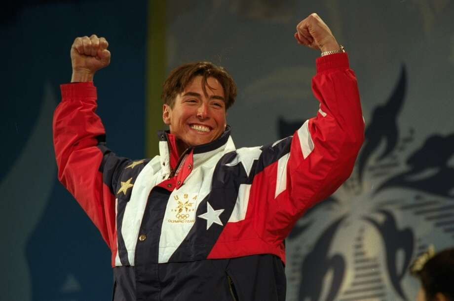 You might remember Jonny Moseley winning a gold medal for the men's moguls at the 1998 Winter Olympics, but did you know he also attended UC Berkeley? He returned to school after finishing his athletic career and graduated in 2006. Photo: Nathan Bilow, Allsport/Getty Images