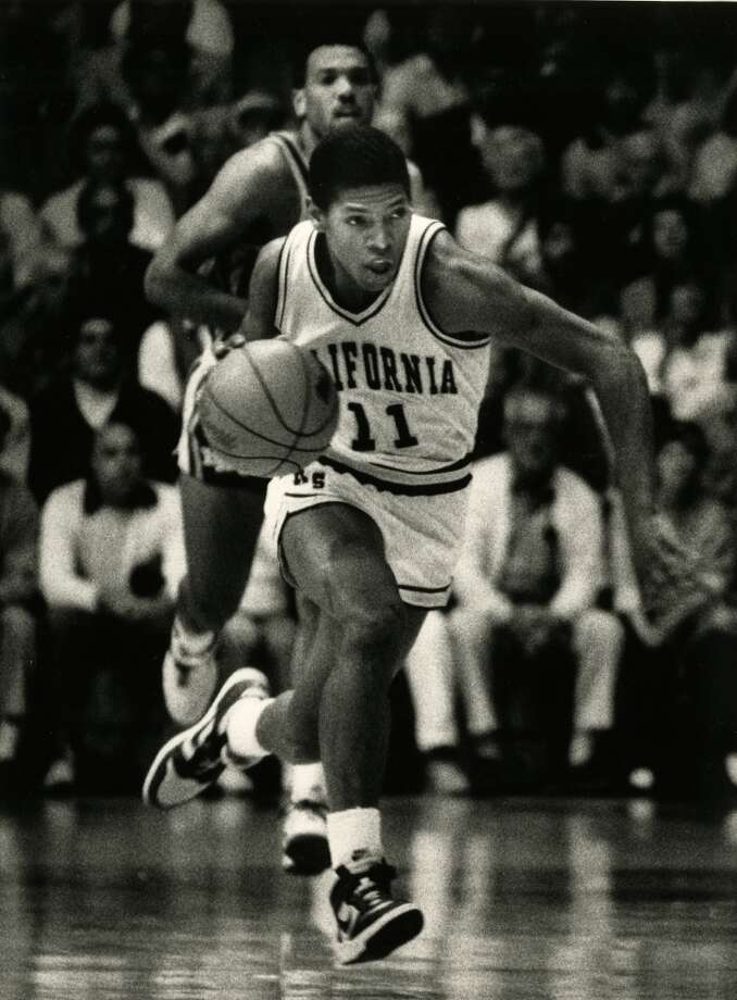 Sacramento-native Kevin Johnson finished up his Cal career as the team's all-time leader in assists, steals and scoring. He was drafted seventh overall by the Cavaliers in 1987. Photo: Michael Maloney, San Francisco Chronicle/1986