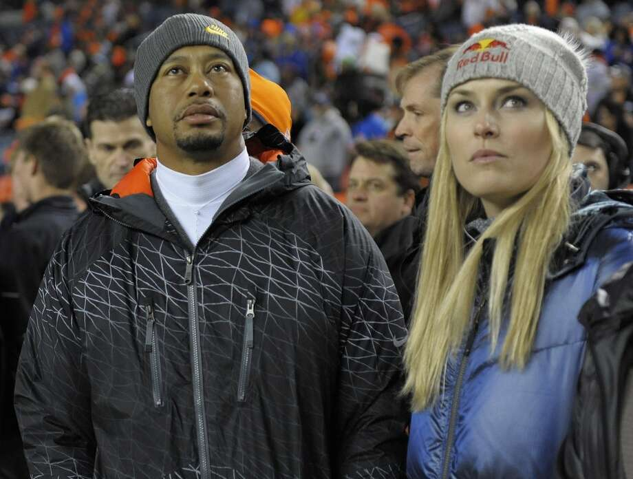 No need to repeat the story of how Tiger's personal life went completely off the rails in recent years — no doubt you already know it. Woods is back on the links, though, and back in the dating game. He's currently seeing skier Lindsey Vonn. Photo: Jack Dempsey, Associated Press