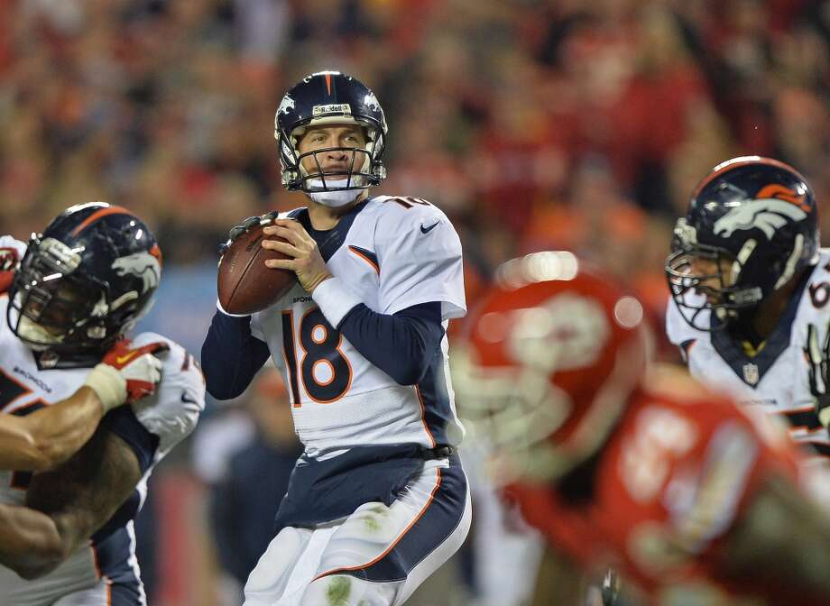 2. Broncos (10-2) Last week: 4Peyton Manning has 4,125 passing yards, most ever after 12 games. His 13th 4,000-yard year pads NFL record. Photo: Peter Aiken, Getty Images