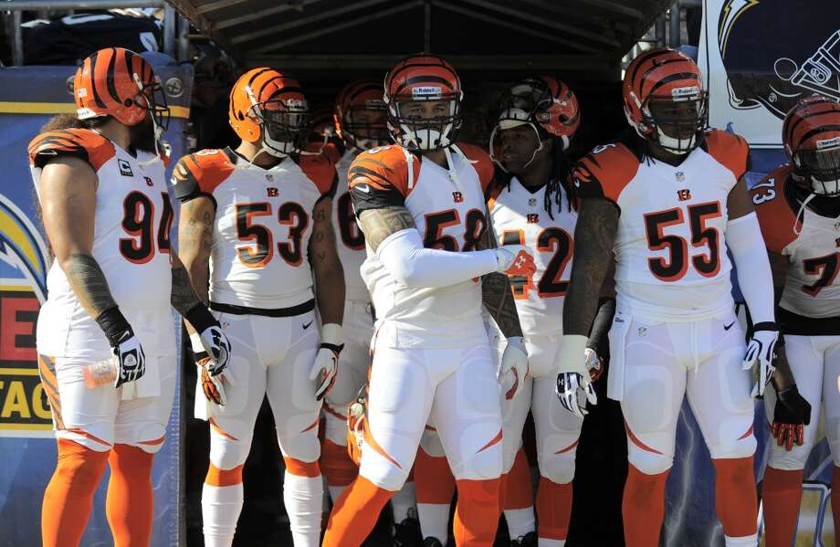 6. Bengals (8-4) Last week: 7  Entering home game against first-place Indy, the Bengals have allowed 216 points, second in  AFC to Chiefs' 214. Photo: Dennis Poroy, Associated Press
