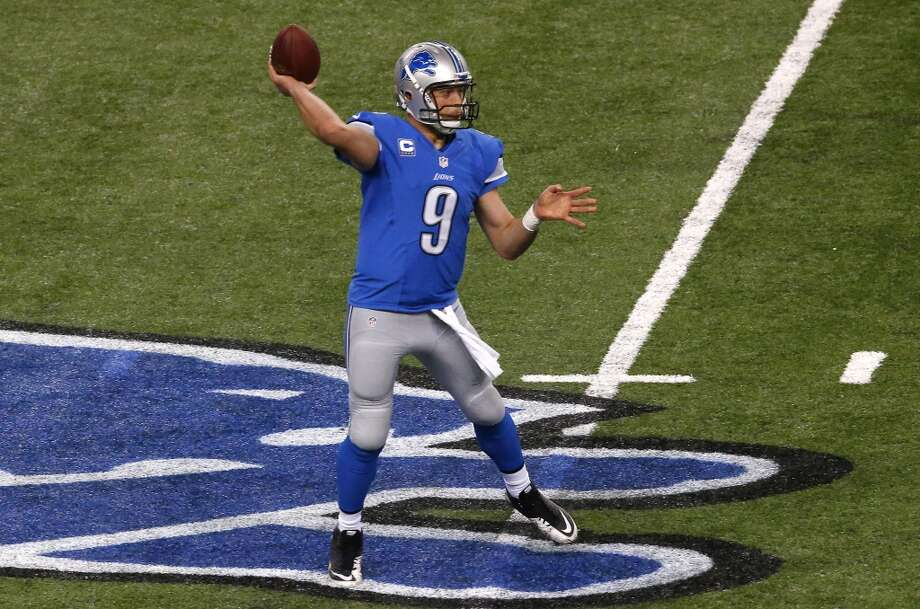 12. Lions (7-5) Last week: 14  Unlike Green Bay and Chicago, the Lions have been able to keep their starting QB  healthy and should win NFC North. Photo: Paul Sancya, Associated Press