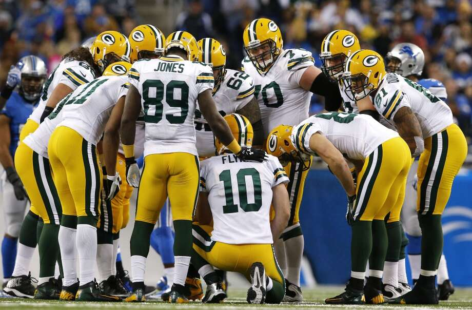 20. Packers (5-6-1) Last week: 20  They've learned the hard way what life is like without QB Aaron Rodgers. They haven't won since he was injured. Photo: Paul Sancya, Associated Press